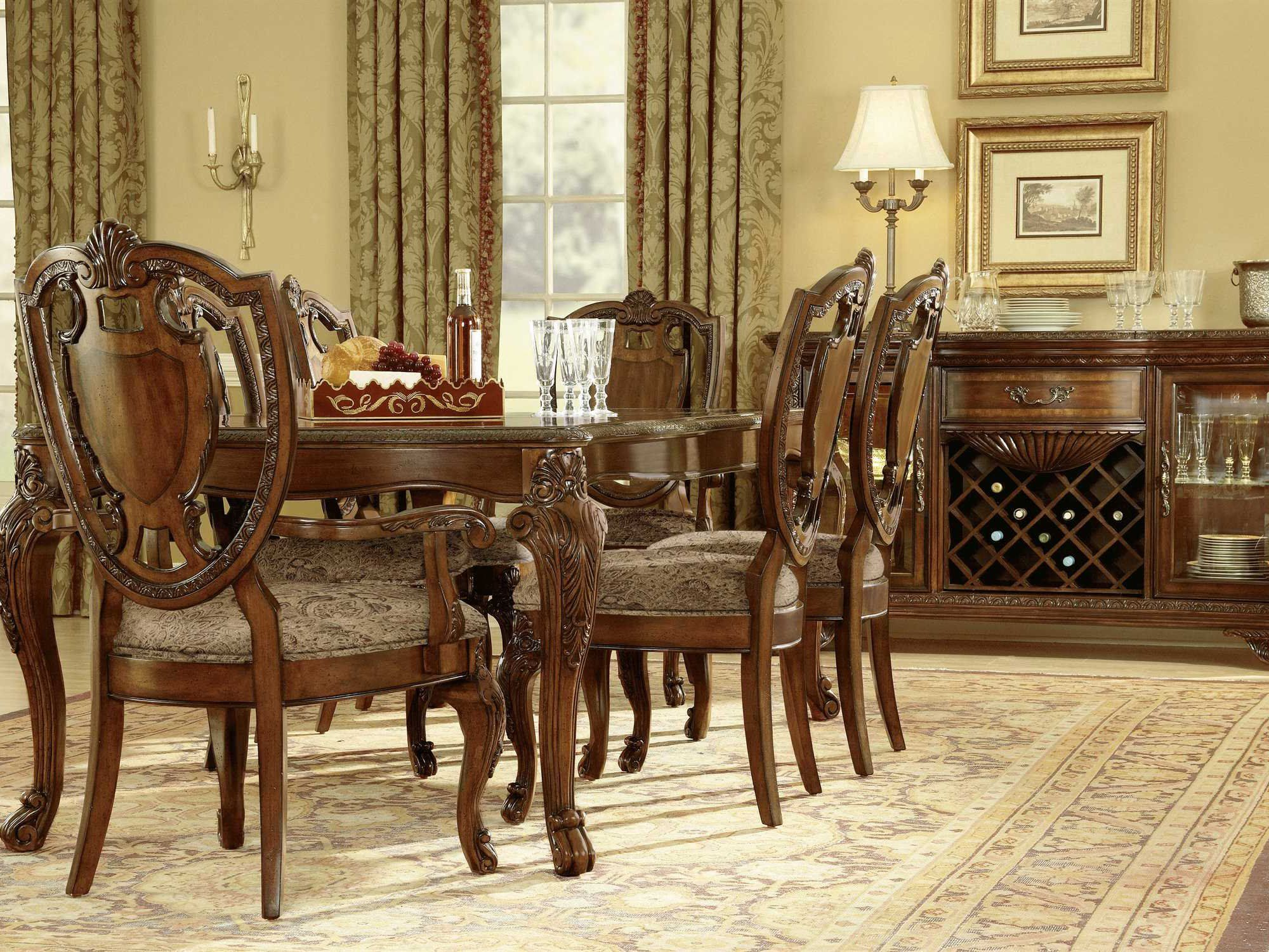 A R T Furniture Old World Dining Set Dining Room Sets Dining