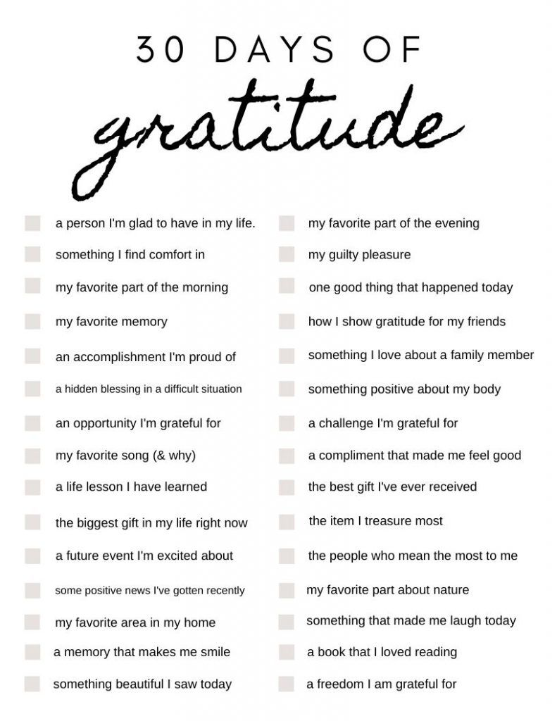 30 Days of Gratitude: Journal Prompts to Get You Started - Angie Cruise Blog