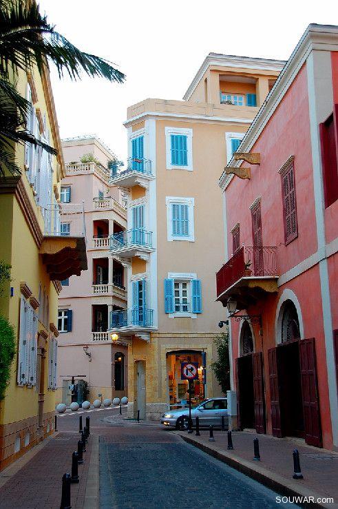 Maisons de beirut douceurs du liban pinterest liban for Maison prefabriquee liban
