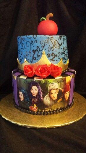 The Decendant cake MariElla Cakes Pinterest Cake Birthdays