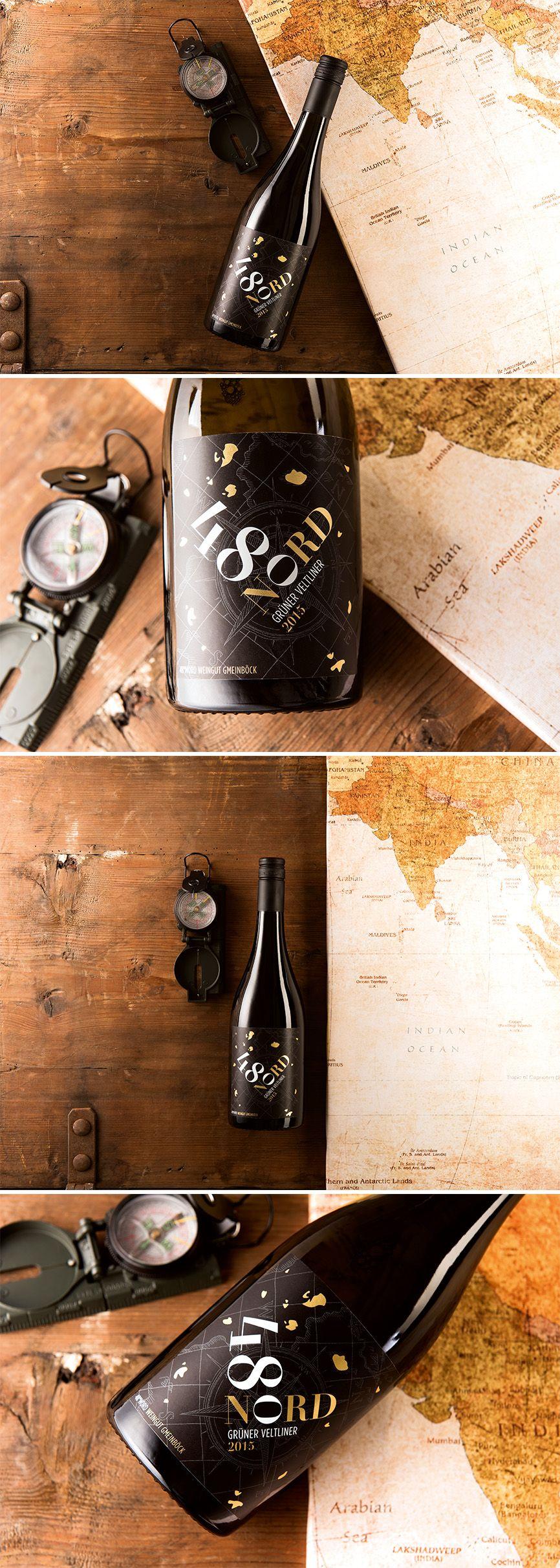 GMEINBÖCK // 48° Nord by www.lunik2.com #wine #packaging #design #befirst #taninotanino