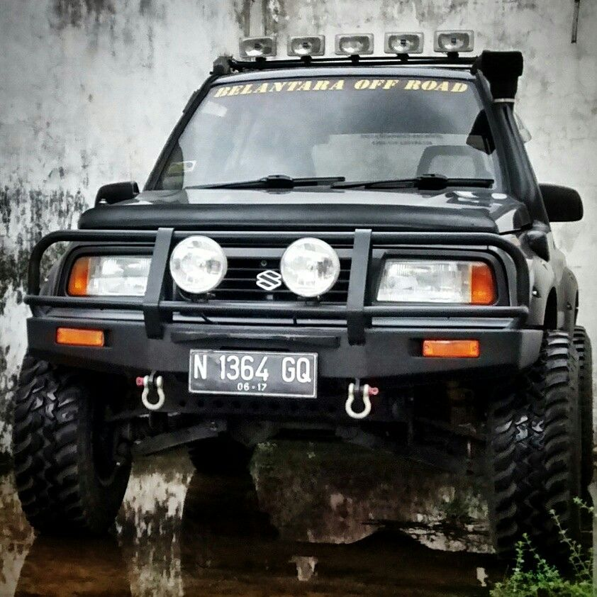 Suzuki Vitara 4x4 Adventure Suzuki Vitara 4x4 Fourwheeldrive Build 4x4life Offroad Vehiculos Todoterreno Sidekick Suzuki Todoterreno