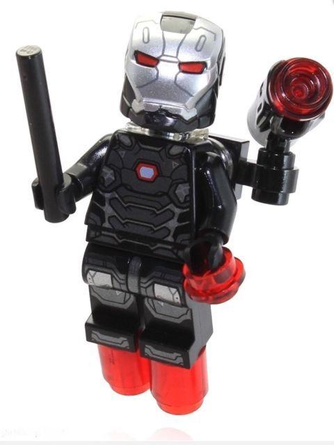 Lego War Machine Marvel Super Heros Civil War Minifigure Blocks (76051)