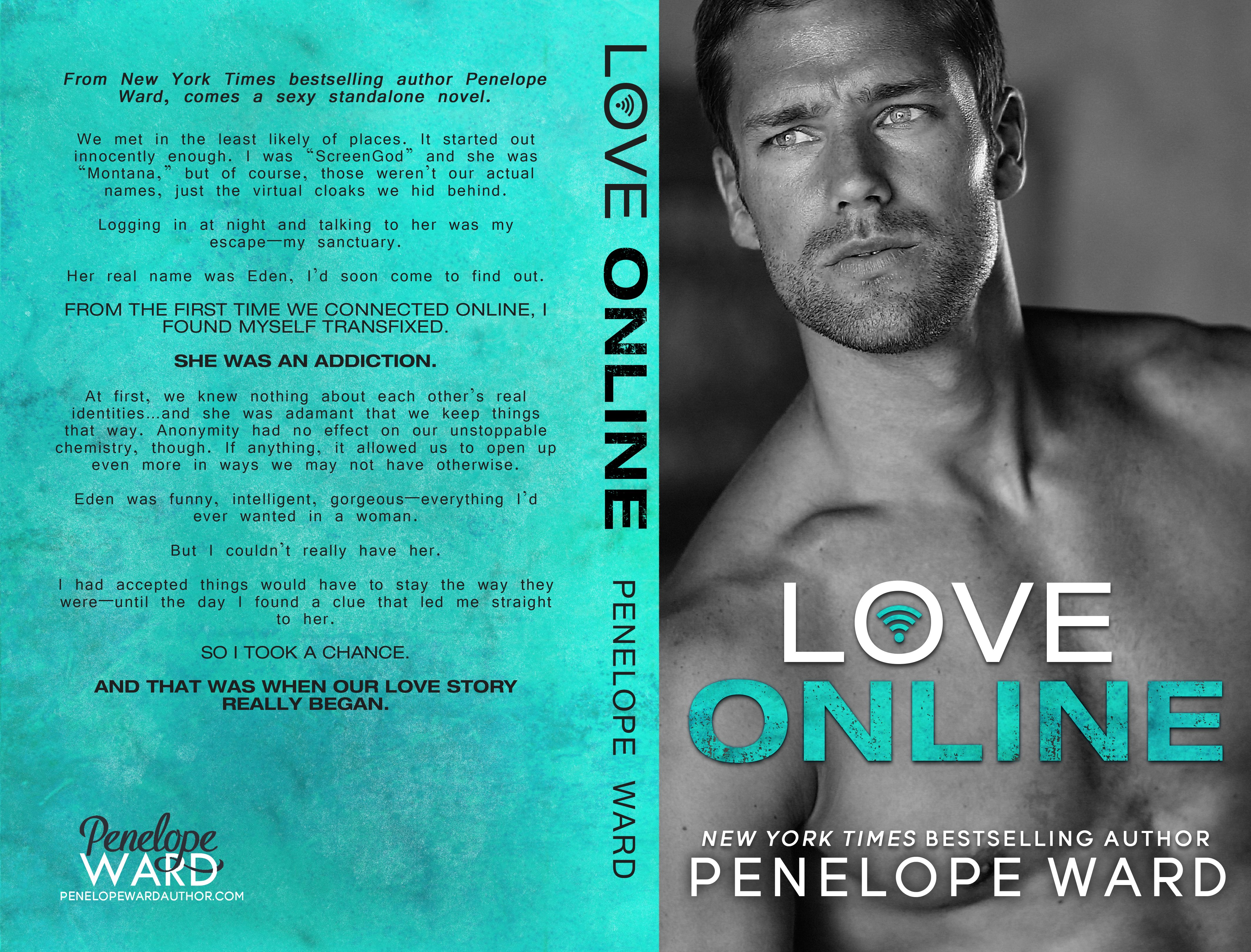 Cover reveal love online by penelope ward contemporary
