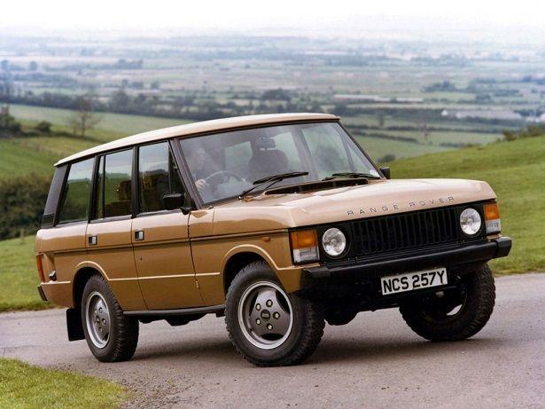 Range Rover 5 Door 1981 1986 Range Rover Land Rover Range Rover Classic