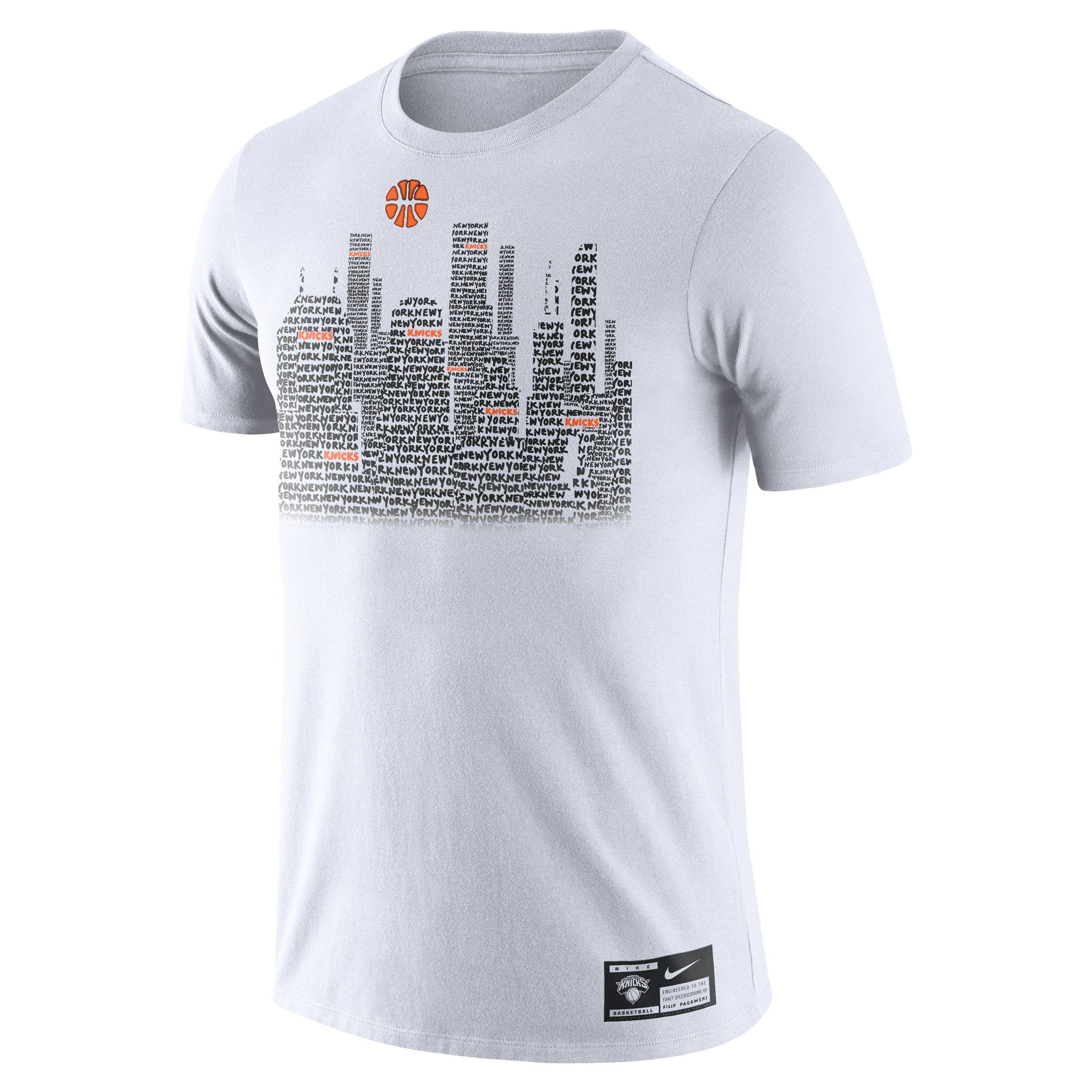 Filip Pagowski Redesigns NBA Team Logos for Nike TShirt