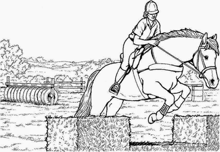 pferde ausmalbilder zum drucken | Ausmalbilder für Kinder