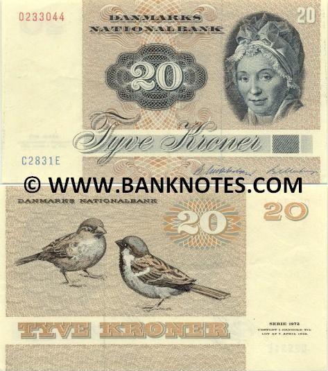 Danmark 20 Kroner 1983 Med Billeder Illustration Danmark Barndomsminder