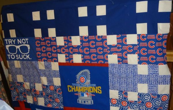 Designing And Sewing A Cubs Quilt Top Part 2 Quilts