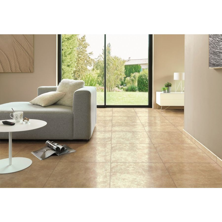 Shop surface source tiolo beige ceramic floor tile common 16 in x shop surface source tiolo beige ceramic floor tile common 16 in x 16 dailygadgetfo Image collections