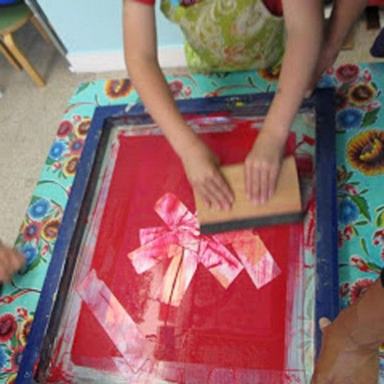 Art Camp For Kids: Printmaking