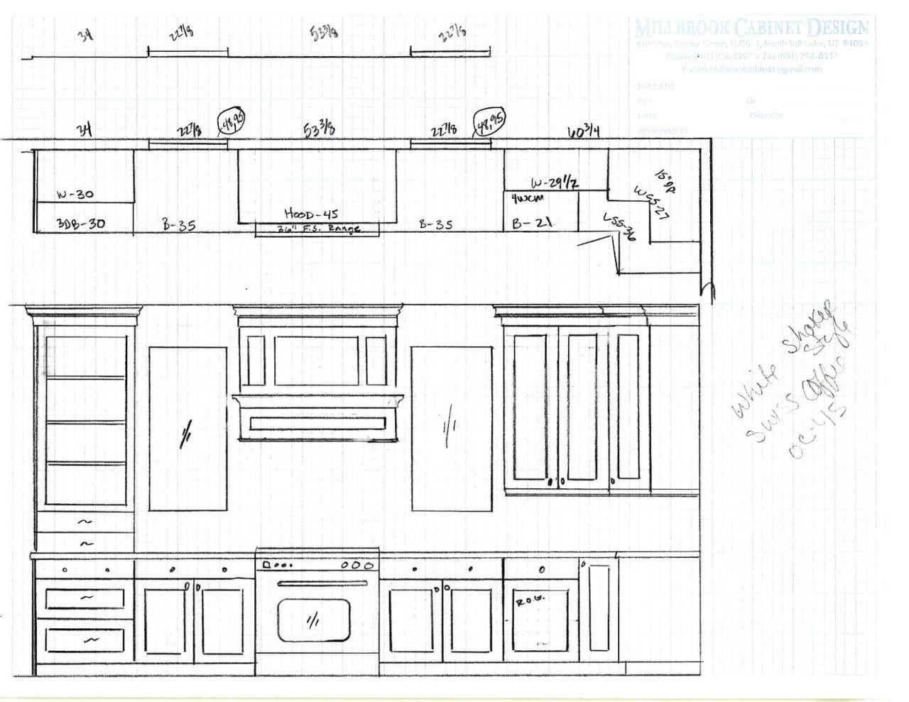 70+ Standard Kitchen Cabinet Sizes Chart - Kitchen ...