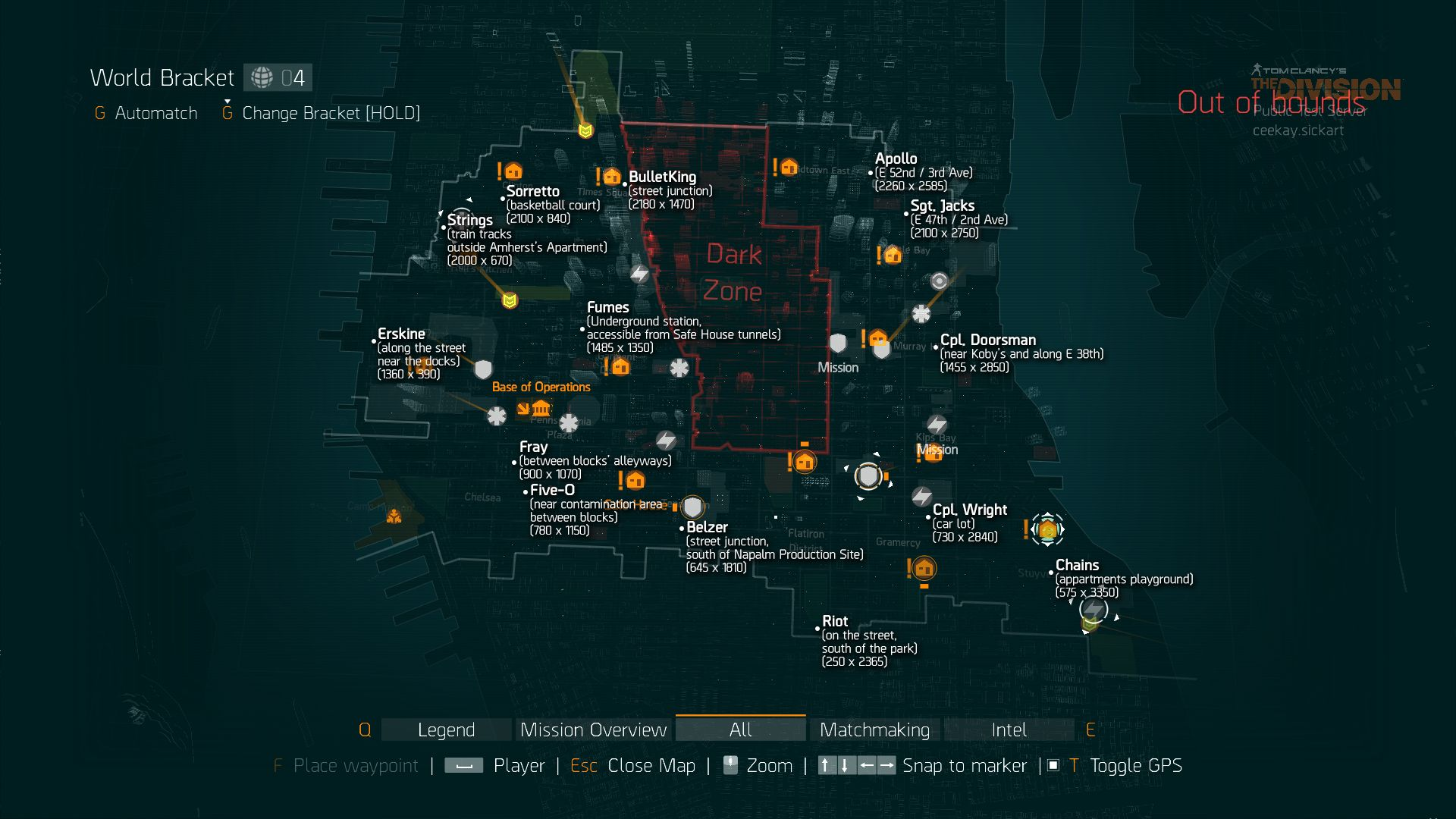 the division world map Lz Boss Map World Division Breath Of The Wild