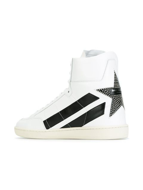 contrast sneakers - White Saint Laurent pIx3Fjkpv