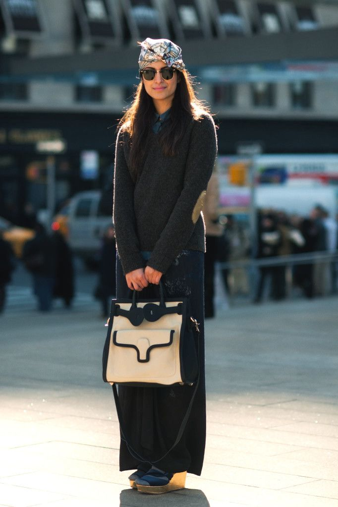 PREETMA SINGH Market Editor, The Wall Street Journal Magazine, in Rochas and Dries van Noten