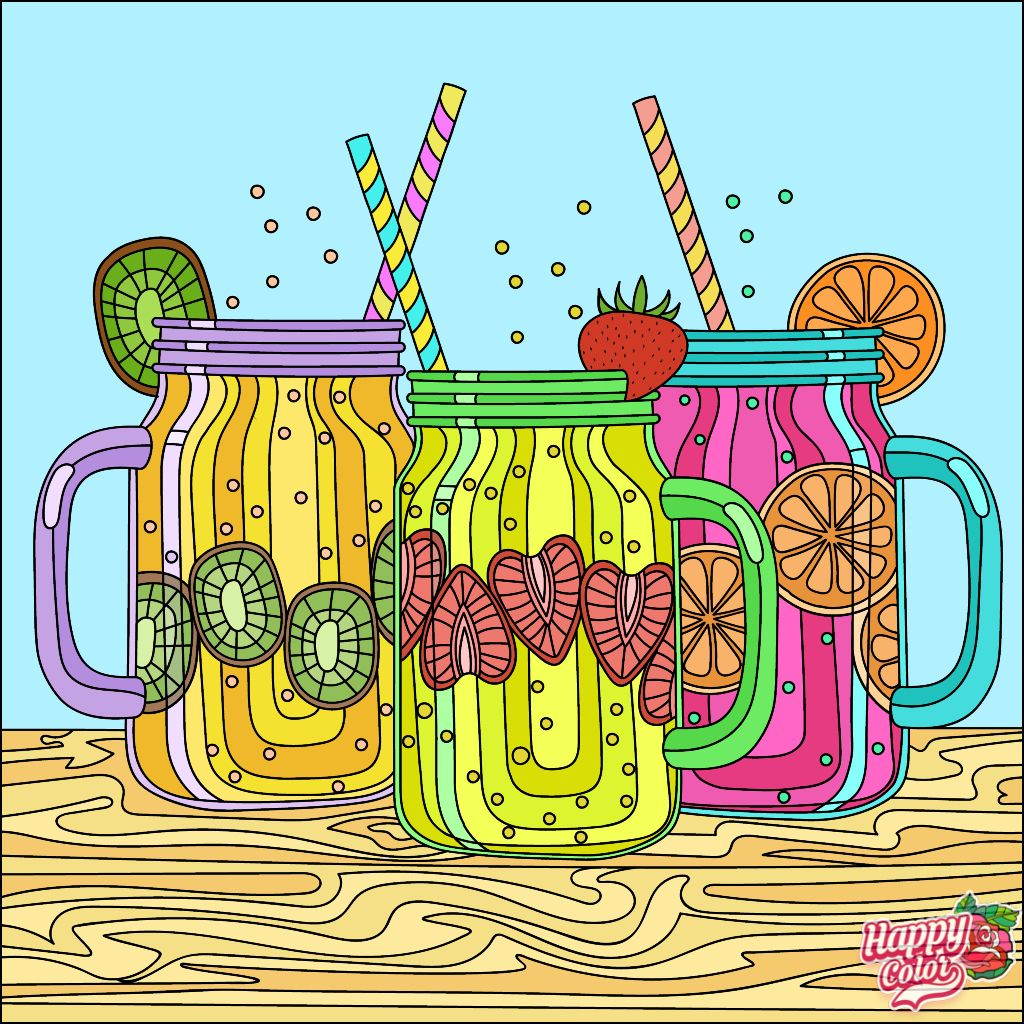 HappyColoringBook colorful colors ColoringBook via