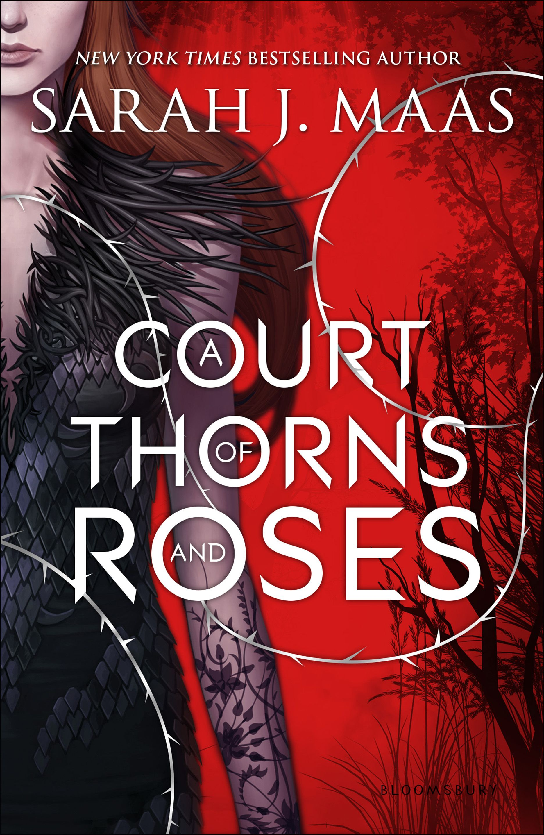 The Cover For A Court Of Thorns And Roses Is Here Now In Hi Res
