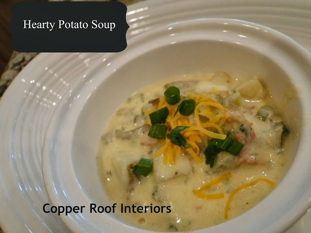 Copper Roof Interiors: Fall recipe....good anytime of the year!
