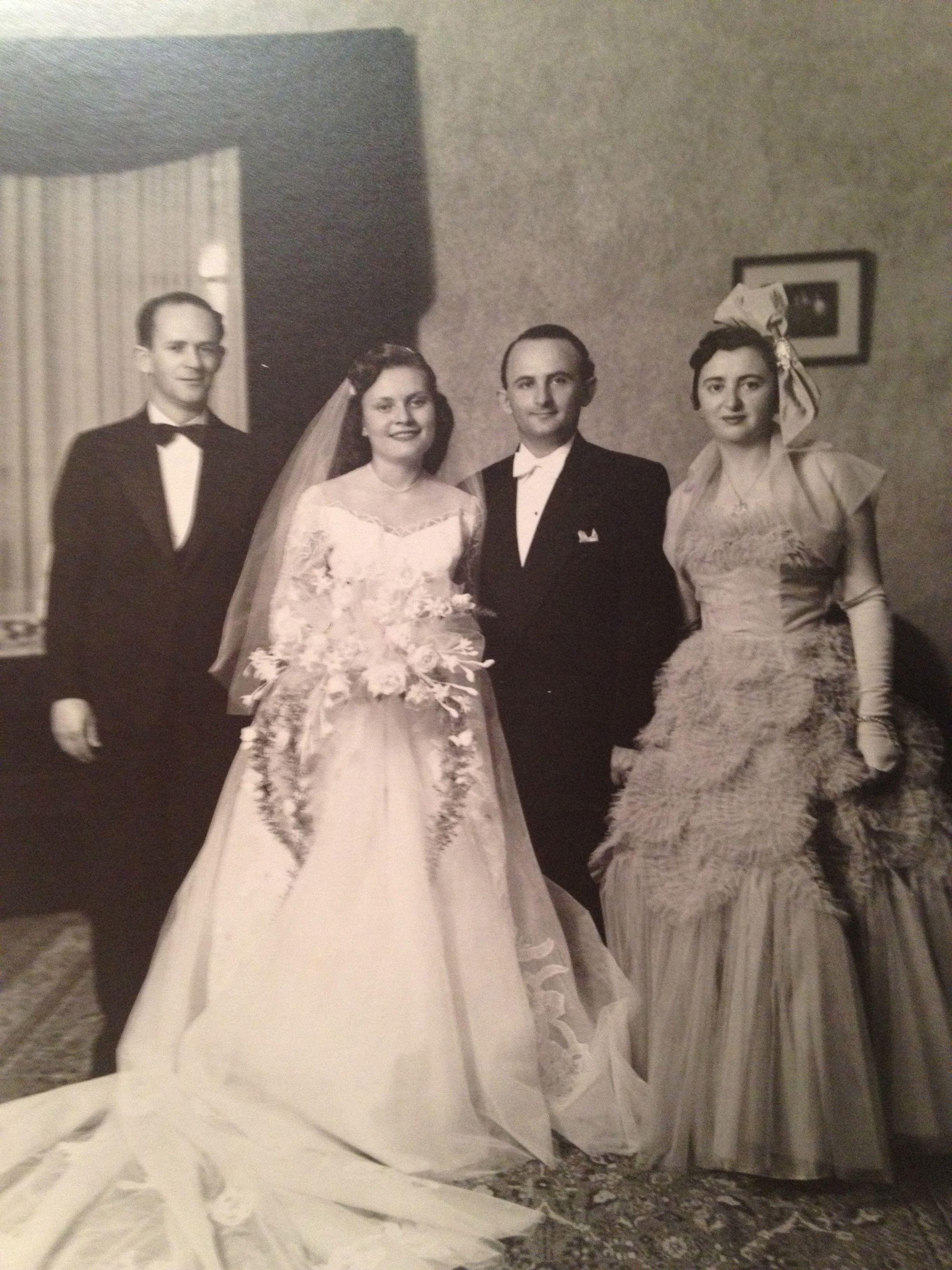 1950 wedding dress  omag    Weddings  Pinterest  Vintage weddings