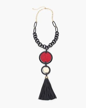 Faelyn Tassel Necklace
