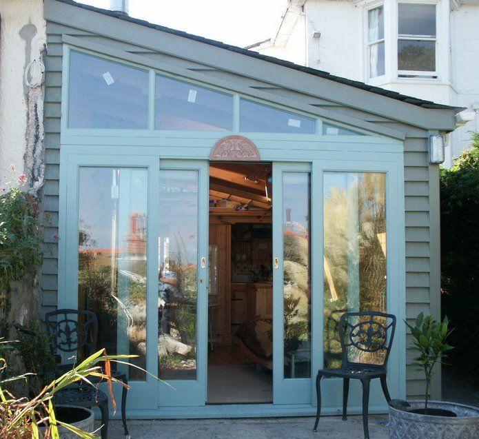 Lean To Studio My Back Garden Pinterest Pvc Roofing