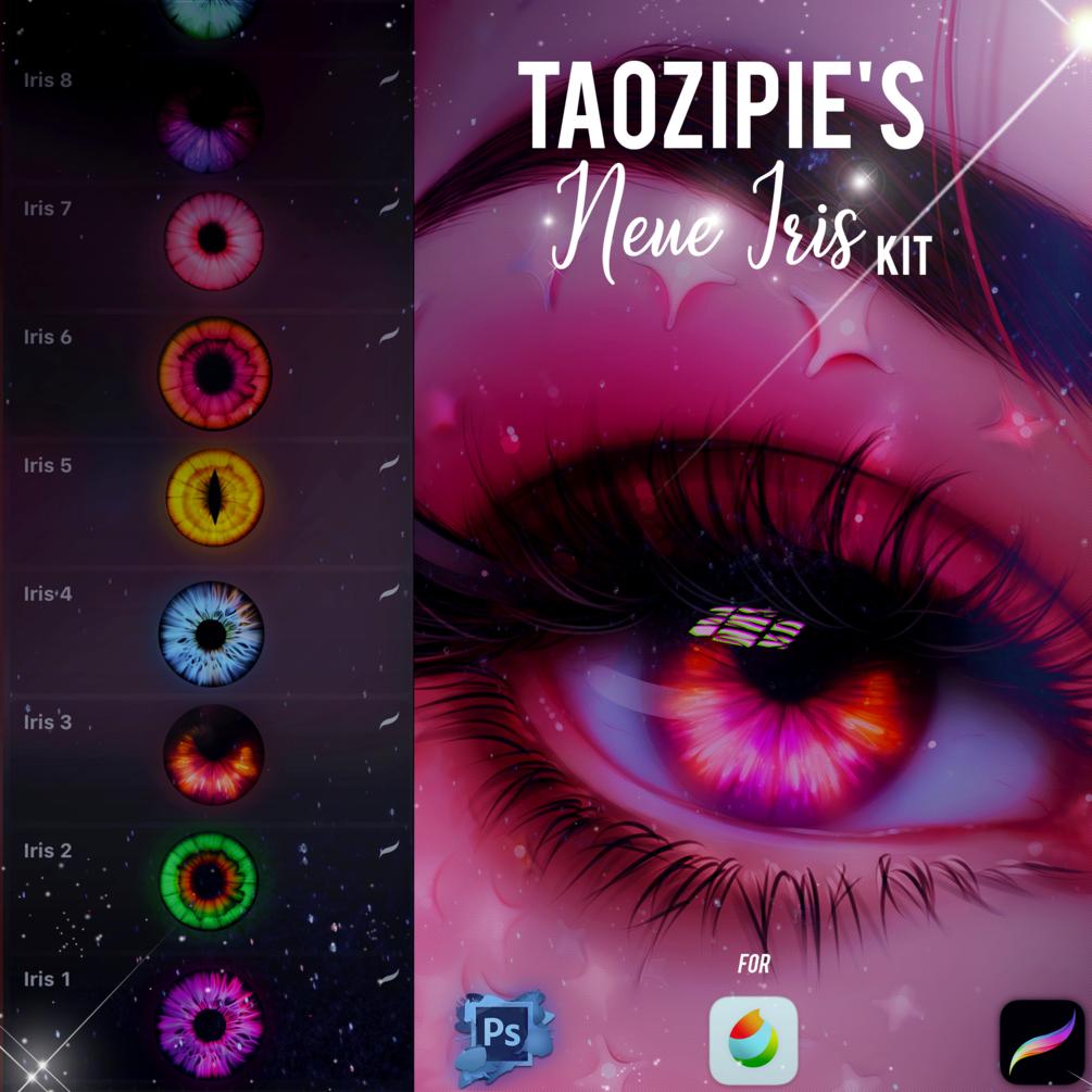 Neue Iris Kit by Taozipie for