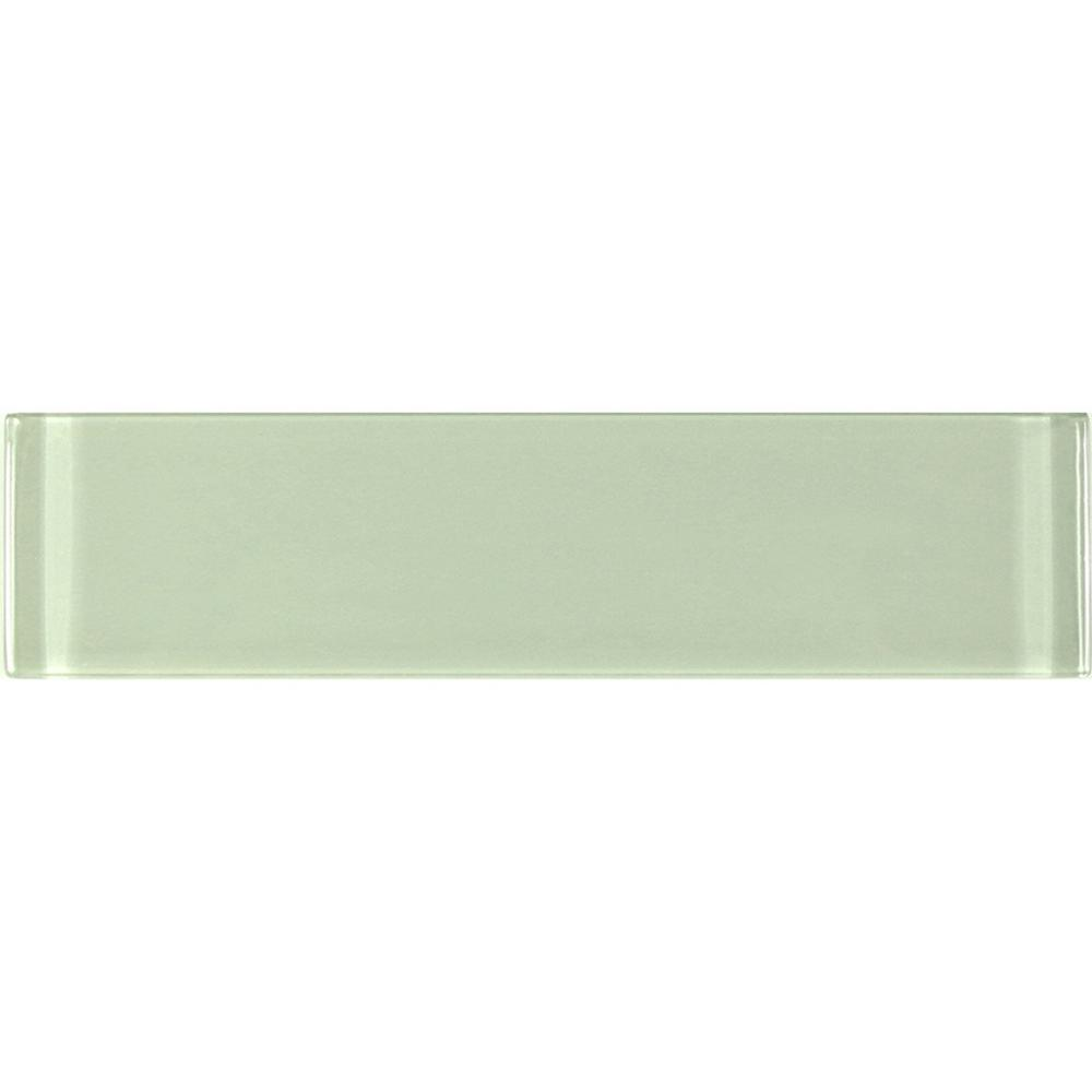 Abolos Metro Celery Green Subway 3 In X 12 In Glossy