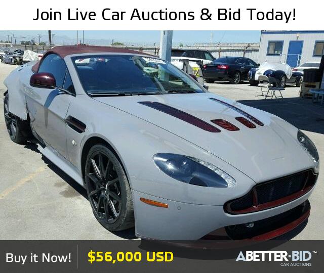 Salvage 2015 Aston Martin All Models For Sale Scfekbfr9fgs21857 Https Abetter Bid En 33636327 2015 Ast Luxury Cars For Sale Car Auctions Models For Sale
