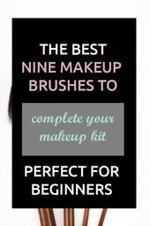 Photo of Makeup Brush Guide 101 for beginners. This video is a cheat sheet with al …
