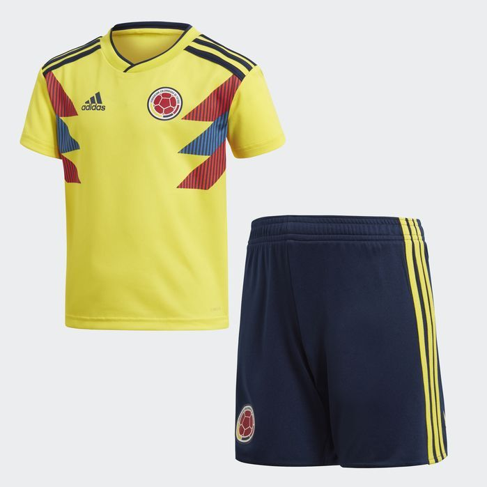 5f56fd9d985 Colombia Home Mini Kit | Products | Adidas colombia, Soccer shirts ...