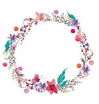 Pin de Faradisania M en Flower   Pinterest   Acuarela, Fondos y Marcos