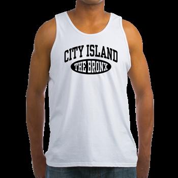 cf40a857236562 City Island The Bronx Men s Tank Top   City Island The Bronx t-shirts    Tees-O-Rama