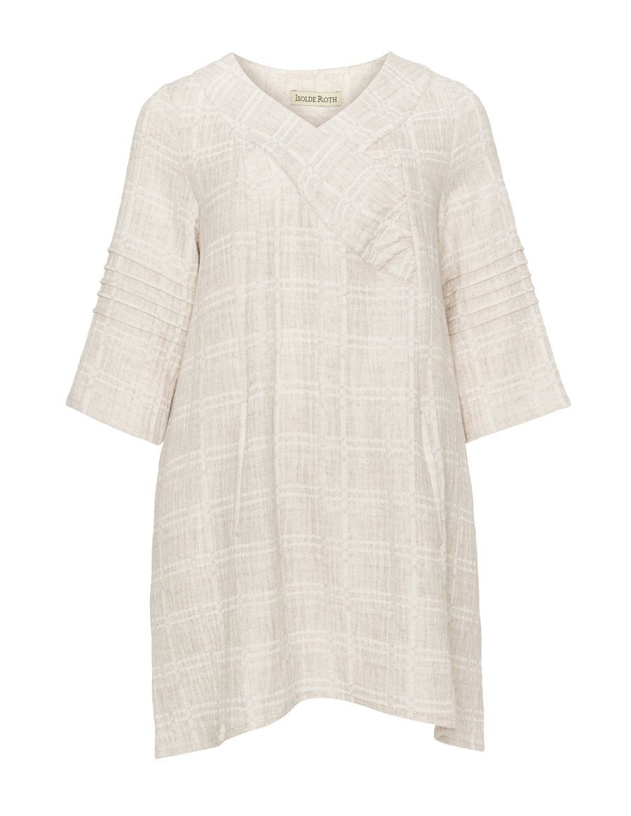 Ruffle detail tunic  by Isolde Roth. Shop now