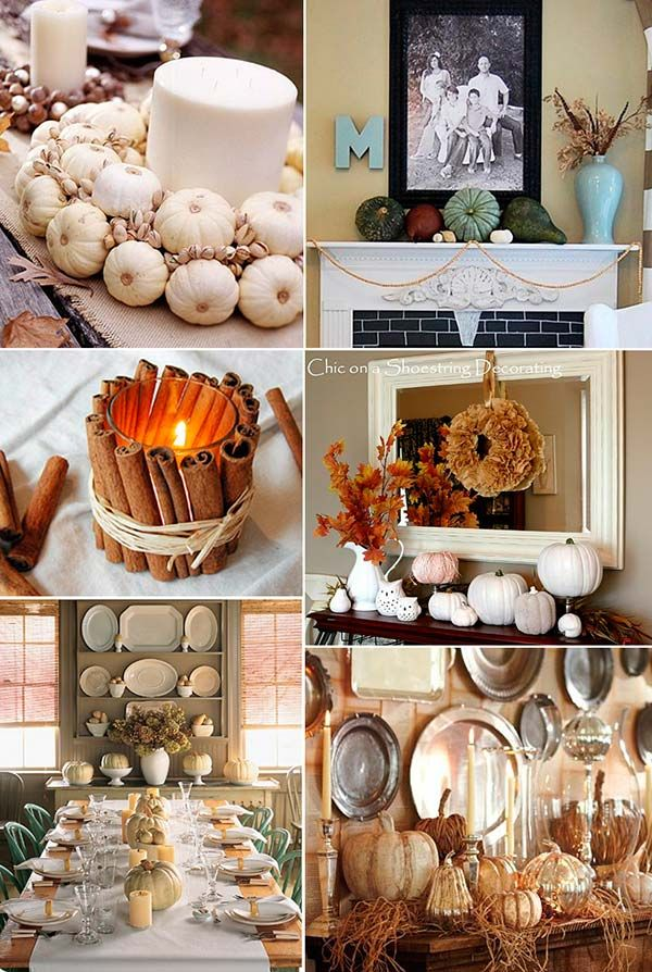 thanksgiving decorating ideas for the home