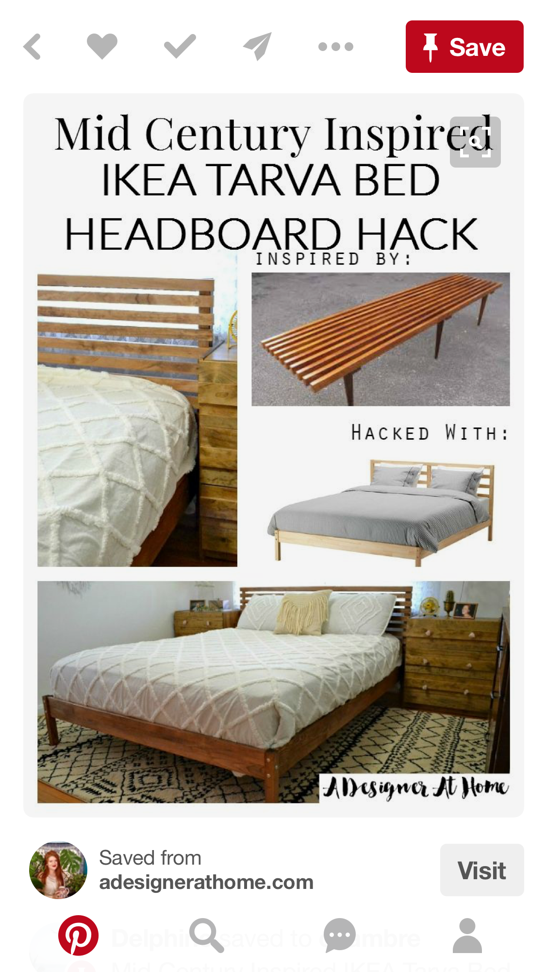 Pin By Kim Lakin On Ideas For Arie Ikea Bed Frames Headboards