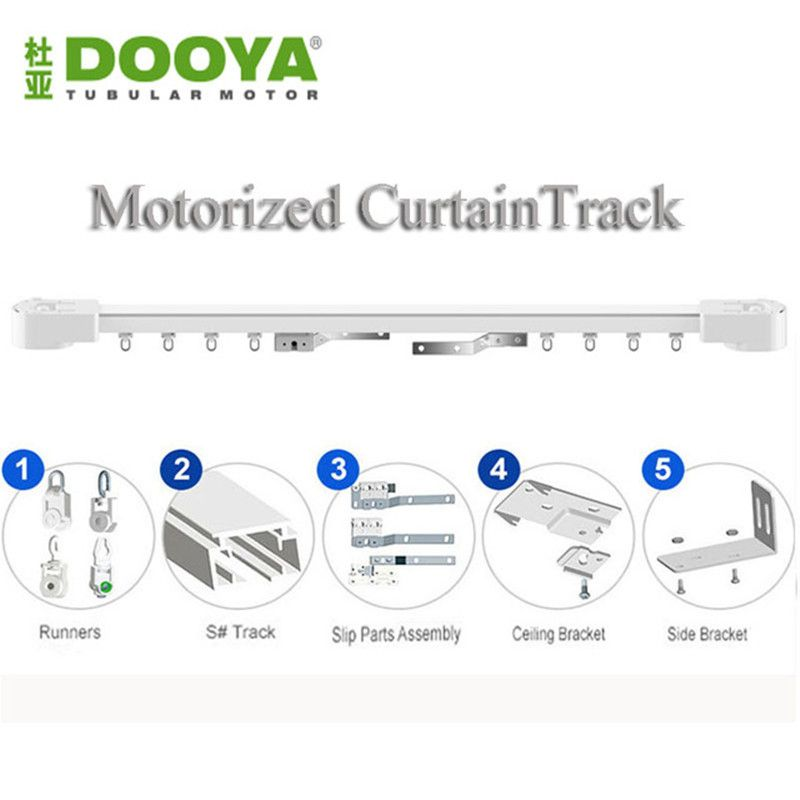 electric curtain track