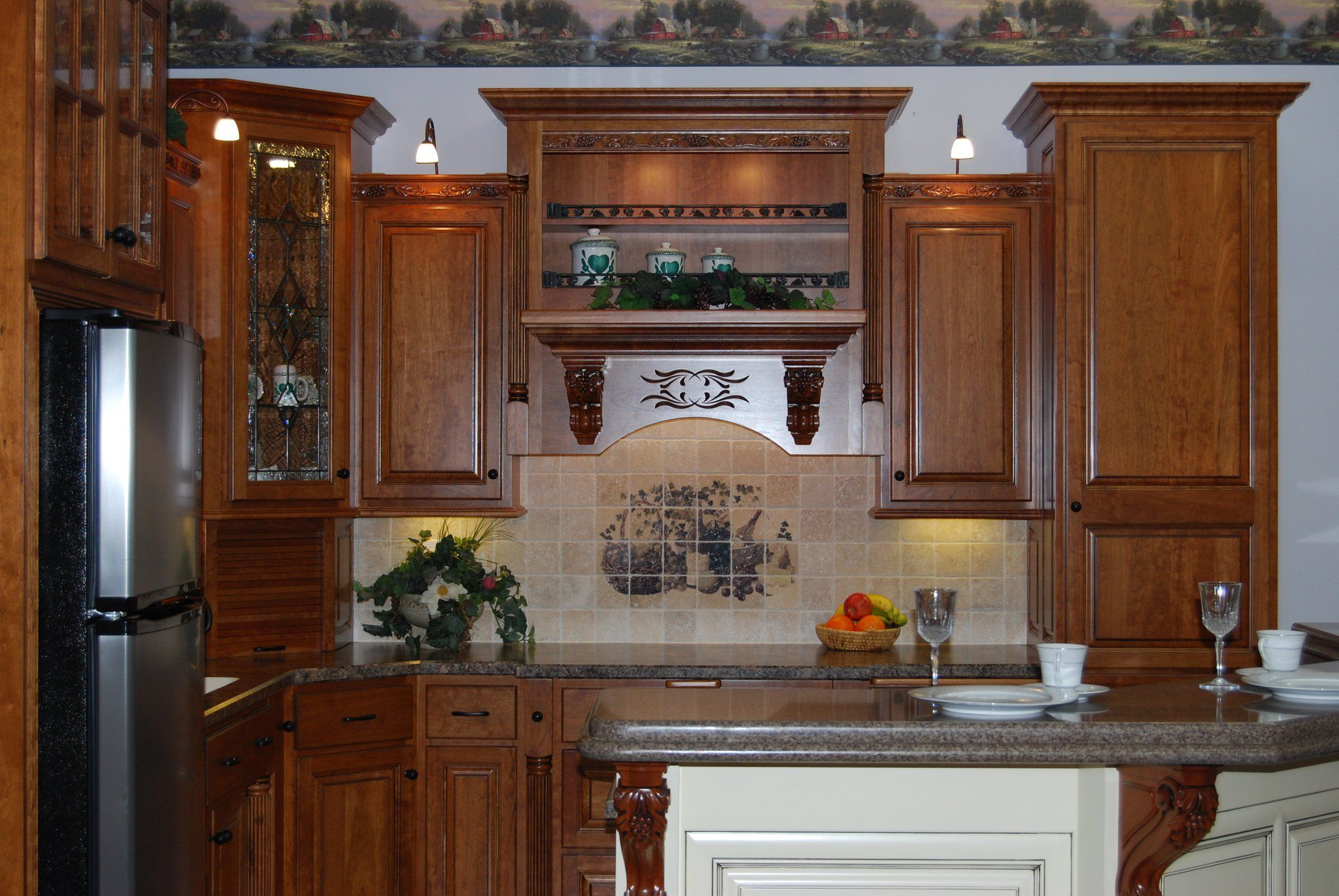 Beautiful Amish Made Cabinetry From Washington Indiana Cabinetry Home Home Decor