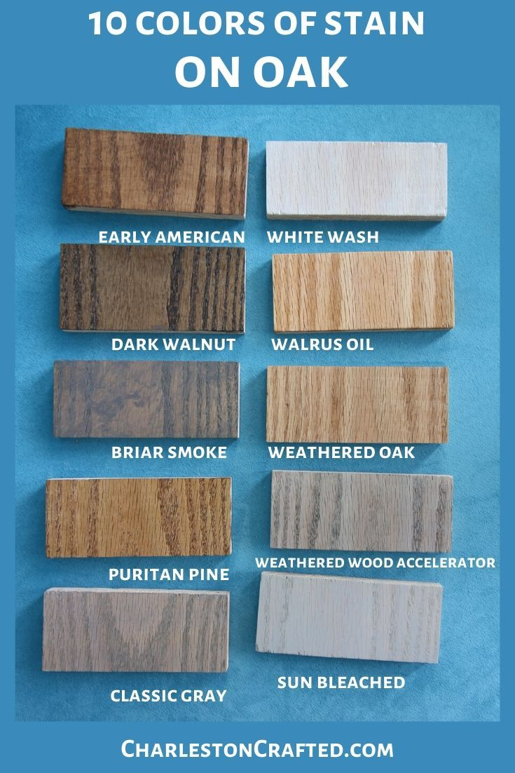 We tested 10 stains for wood on 5 species of wood - here's the results!