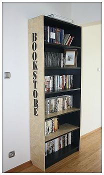 bookcase, painted furniture