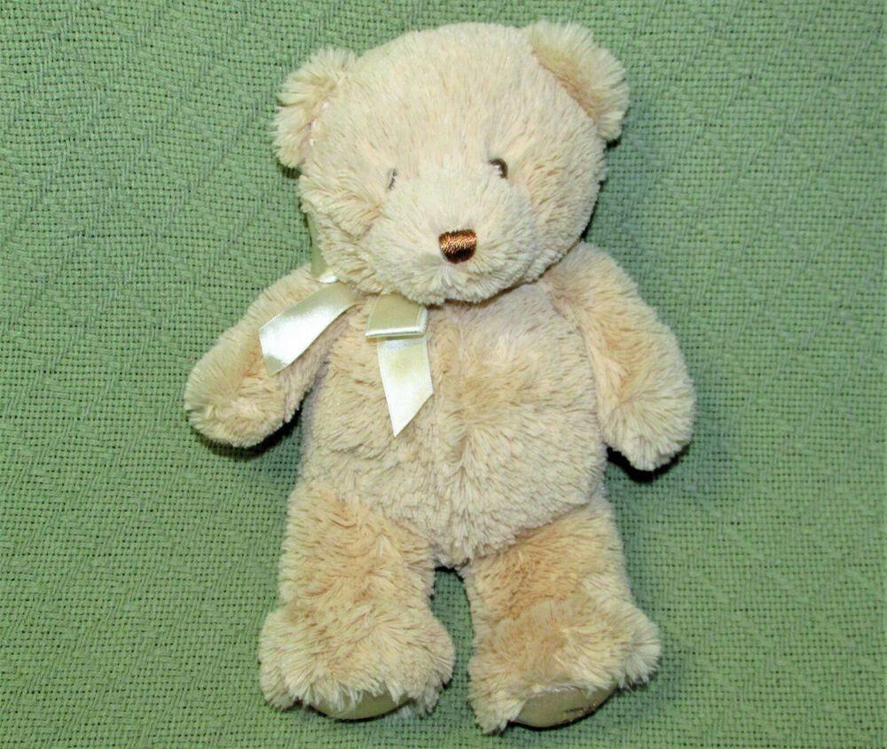 Predownload: 10 Baby Gund My First Teddy Tan Stuffed Animal Soft Plush Satin Feet Unisex Babygund Teddy Soft Plush Animals [ 845 x 1000 Pixel ]