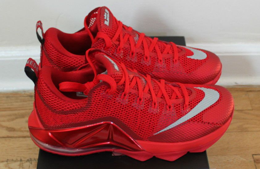 2cb256aebb1 Nike LeBron XII 12 Low Red October 724557-616 (6) | Fresh Sneakers ...