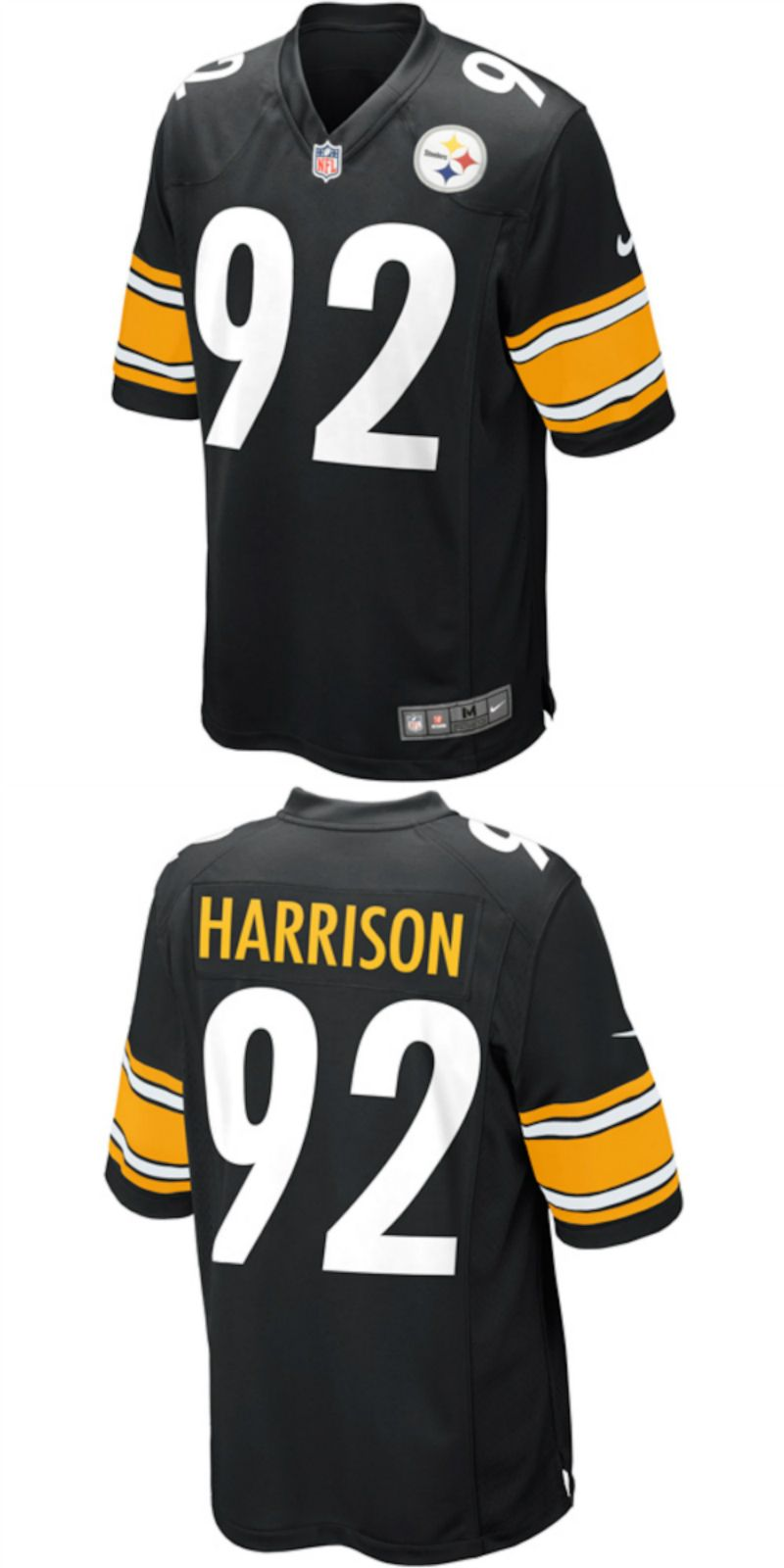 pretty nice 58752 5a15b UP TO 70% OFF. James Harrison Pittsburgh Steelers Nike Game ...