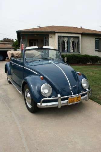 cox cabriolet de 1960 couleur bleu azur carte grise usa 846a moteur origine 1200 simple. Black Bedroom Furniture Sets. Home Design Ideas
