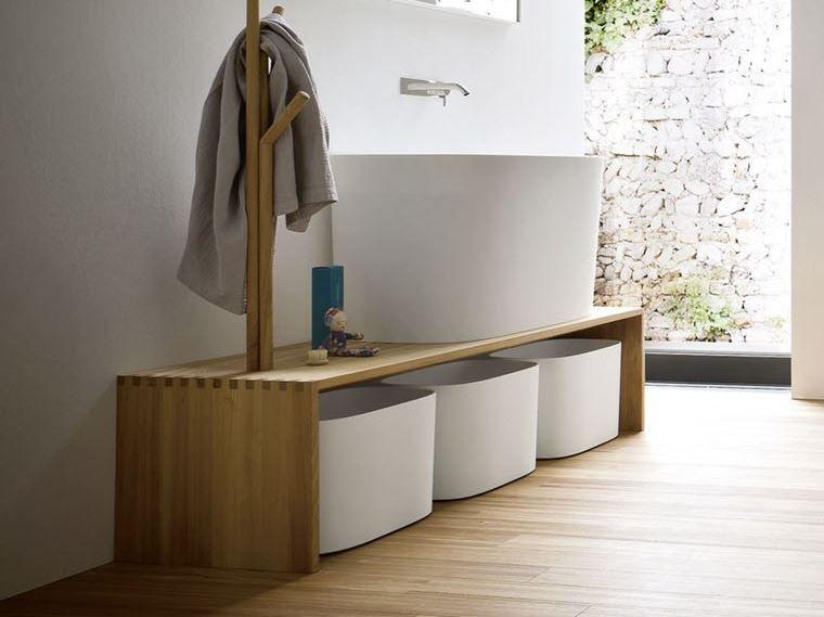 Contenitori Bagno ~ Fonte panca da bagno collezione fonte by rexa design casa