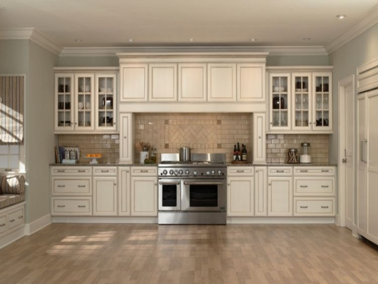 30 Best Ideas Farmhouse Kitchen Cabinets Wood And Modern Style Antique White Kitchen Cabinets Antique White Cabinets Kitchen Cabinet Trends