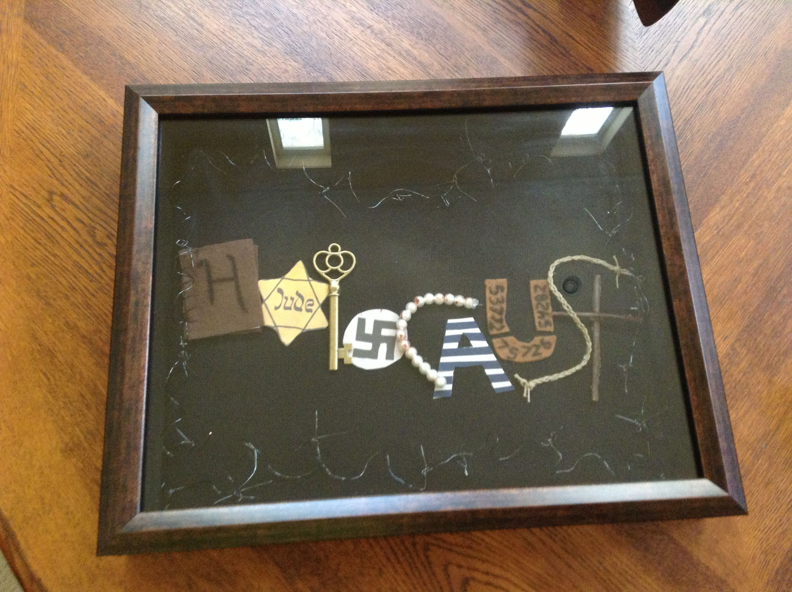holocaust project shadow box (this is mine!) | projects | pinterest