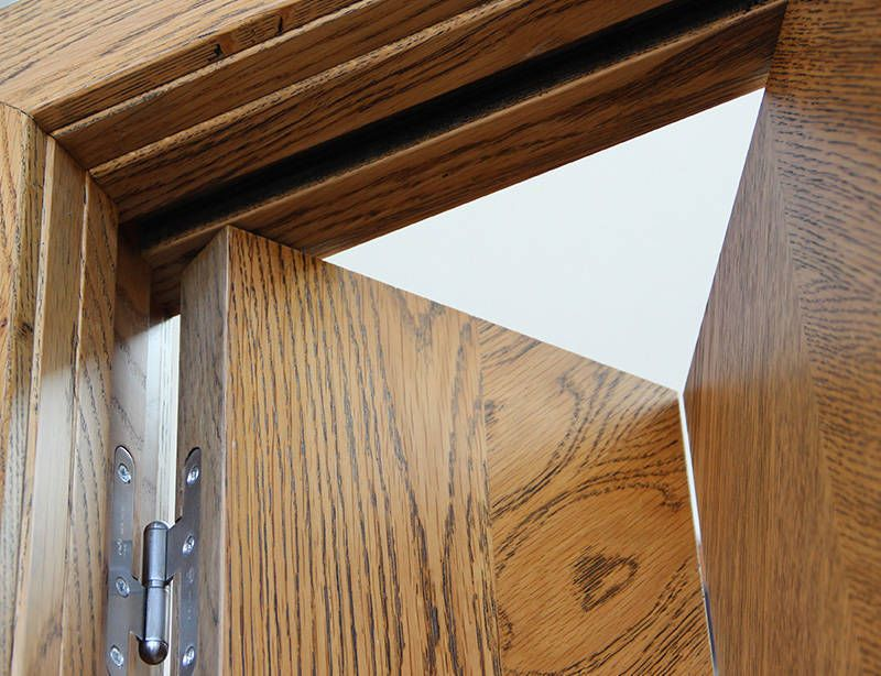 Puerta plegable puertas y ventanas pinterest puertas - Puerta plegable madera ...