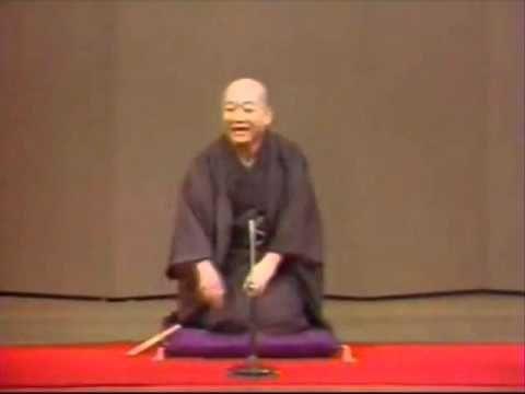 """(1/2) Rakugo in English """"Toki-udon"""" Shijyaku Katura- YouTube"""