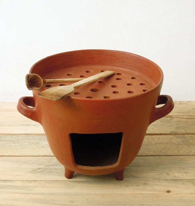 Fogones de barro buscar con google bushcraft and - Cocinar en horno de lena ...