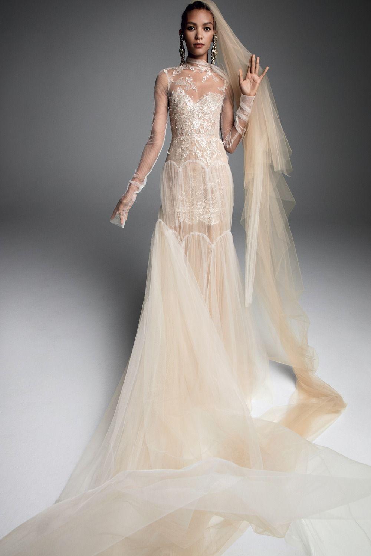 e64b2cc74cb5b Vera Wang Fall 2019 Collection | Everything Wedding | Wedding ...